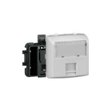Prise RJ45 Cat.6 FTP  appareillage saillie composable - blanc