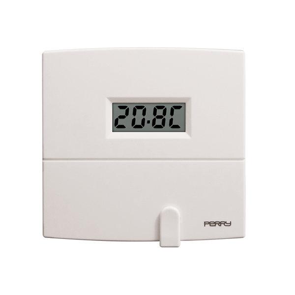 Thermostat digital journalier 230V serie next blanc Perry