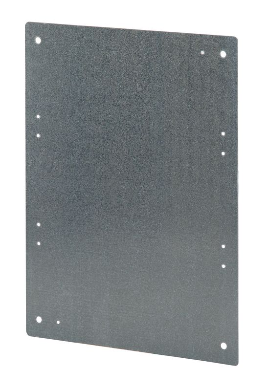 plaque de fond metallique accessoires coffrets tanches polyester ip65 renforc s. Black Bedroom Furniture Sets. Home Design Ideas